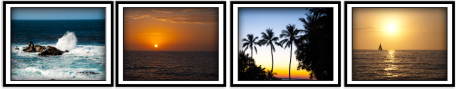 Clark Reeh Photography Notecard Collections - Coastal Set of four original unique photos
